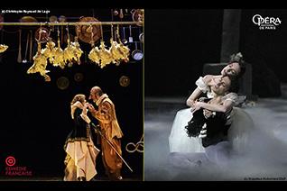 スクリーンで見る コメディ・フランセーズとパリ・オペラ座