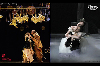 La Comédie-Française et l'Opéra de Paris au cinéma - Pathé Live & FRA Cinéma